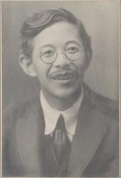 岡田健三肖像画